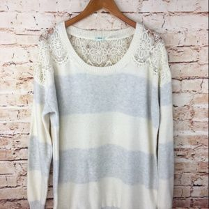 UO Kimchi Blue Striped Oversized Sweater